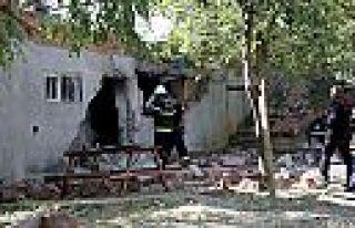 Kahramanmaraş'ta patlama: 1 kişi ağır yaralı