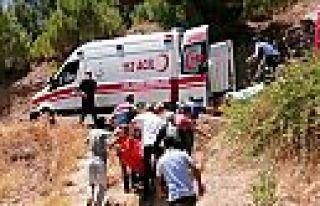 Kahramanmaraş'ta serinlemek isterken ağır yaralandı