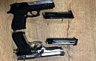 Kahramanmaraş'ta silahla ateş eden şüpheli yakalandı