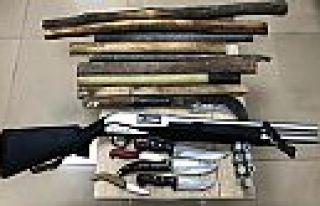 Kahramanmaraş'ta silahlı ve bıçaklı kavga önlendi