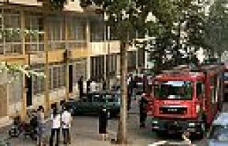 Kahramanmaraş'ta tekstil atölyesinde yangın