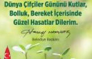 """MAHÇİÇEK """" ÇİFTÇİLİK HELAL KAZANÇTIR""""..."""