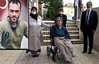 Şehidin anısına akülü sandalye