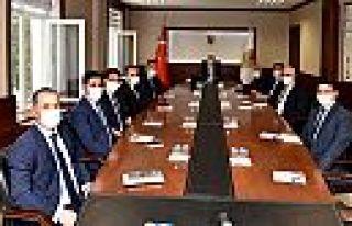 Vali Coşkun'dan koordinasyon toplantısı