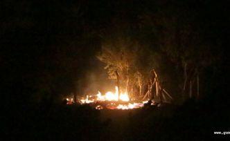 Kahramanmaraş Ahır dağında yangın