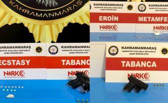 Kahramanmaraş'ta 10 kişi tutuklandı