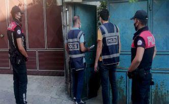 Kahramanmaraş'ta 40 aranan şahıs tutuklandı