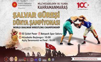 Dünya Güreş şampiyonası Kahramanmaraş'ta
