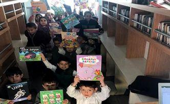 Gezici kütüphane 620 öğrenciyi ağırladı