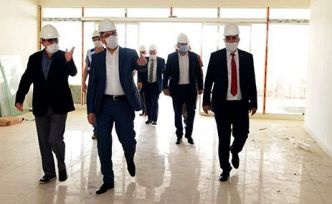 Güngör, Kuyumcukent inşaat alanını gezdi