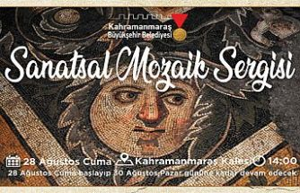 Sanatsal Mozaik sergisi Kale'de açılıyor