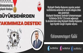 Kahramanmaraşspor'a 250 bin liralık destek