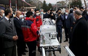 Kahramanmaraş'a 10 yeni ambulans