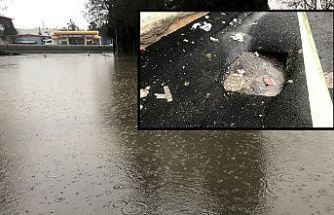 Kahramanmaraş'ta sağanak yağış