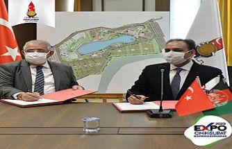 EXPO 2023 Onikişubat için ilk katılımcı ülke imzası atıldı