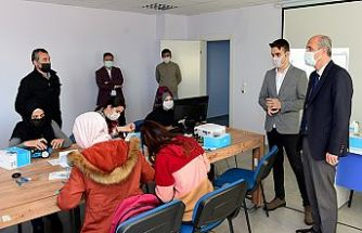 Gençlik Merkezinde kurslar başladı