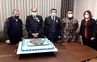 MADO'dan polise özel pasta