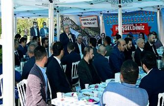 Mahçiçek, EXPO Alanında MHP Teşkilatıyla buluştu