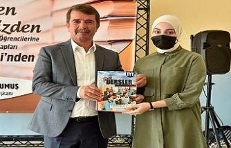 Türkoğlu Belediyesinden öğrencilere kaynak kitap desteği