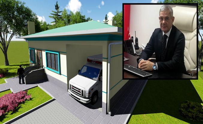 Yeni 112 Acil Sağlık Hizmet istasyonları yapıyor