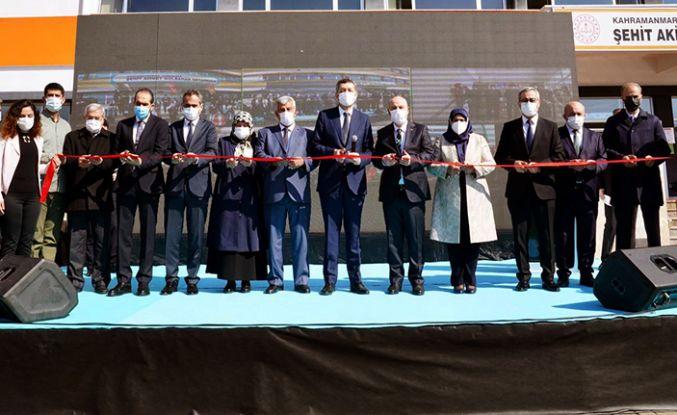 Milli Eğitim Bakanı Ziya Selçuk Kahramanmaraş'ta