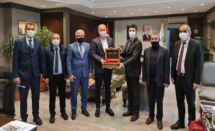 KGC Yönetimi TOKİ Başkanı Bulut'la görüştü